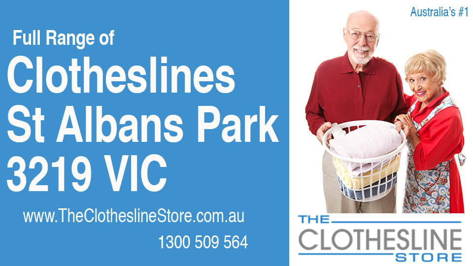 New Clotheslines in St Albans Park Victoria 3219