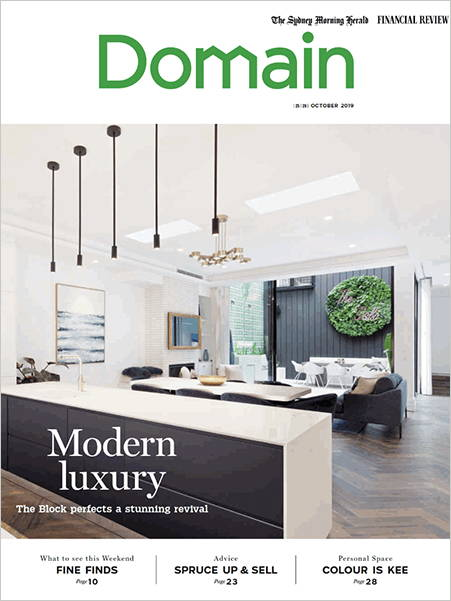 Domain Magazine Article Jolie Home Bang for your buck renovation