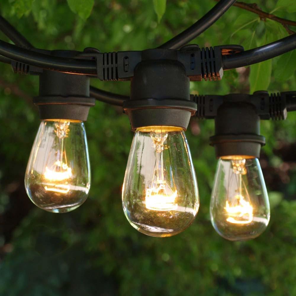 Commercial Medium String Lights & 11S14 Bulbs