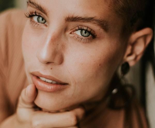 Beautiful Woman Skin Types