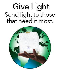 Solar Lanterns for emergency and disaster relief