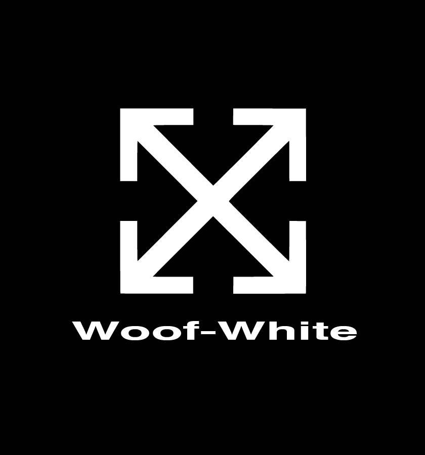 designer dog clothes off white