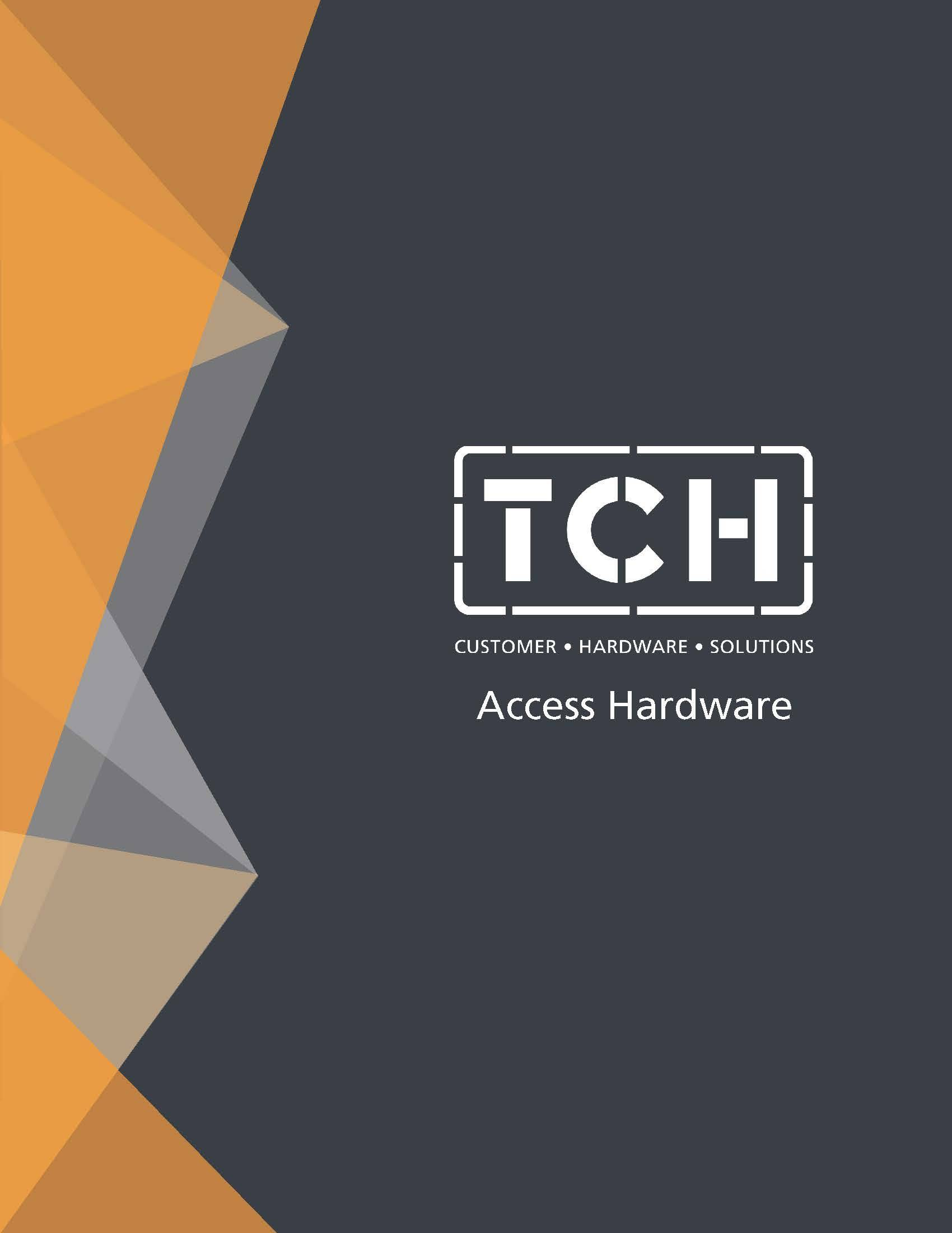 Cover of TCH's Access Hardware line card