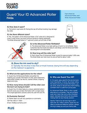 FAQs Advanced Rollers