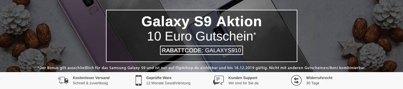 Gebrauchtes Samsung Galaxy S9 jetzt günstig kaufen bei FLIP4SHOP