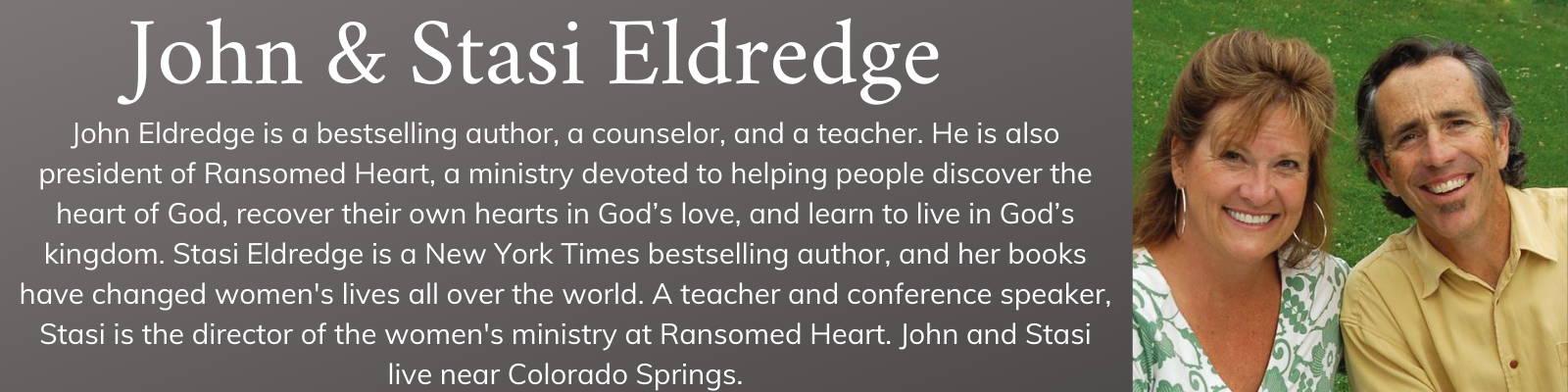 John & Stasi Eldredge