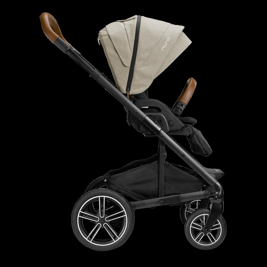 the Nuna 2020 / 2021 MIXX stroller, side view, shop Kidsland