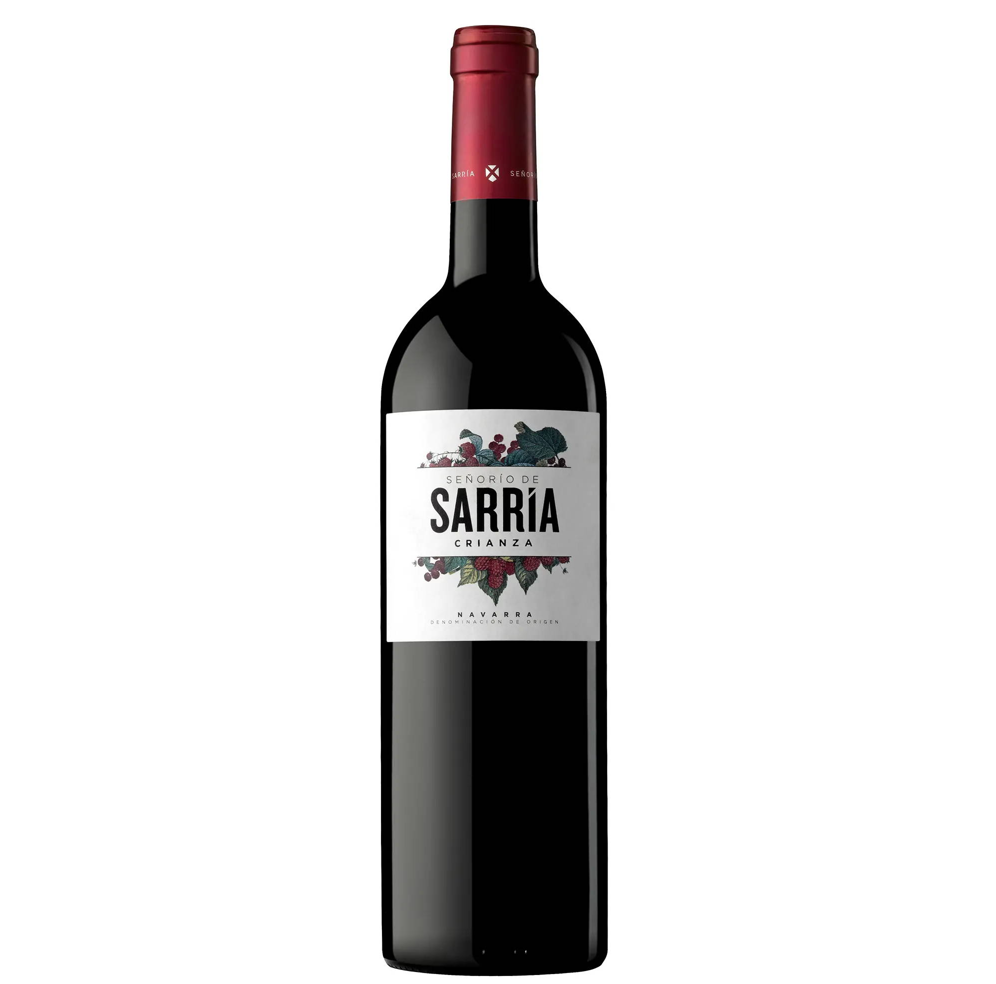 Señorío de Sarría Crianza Spanish wines  distributed by Beviamo International in Houston, TX