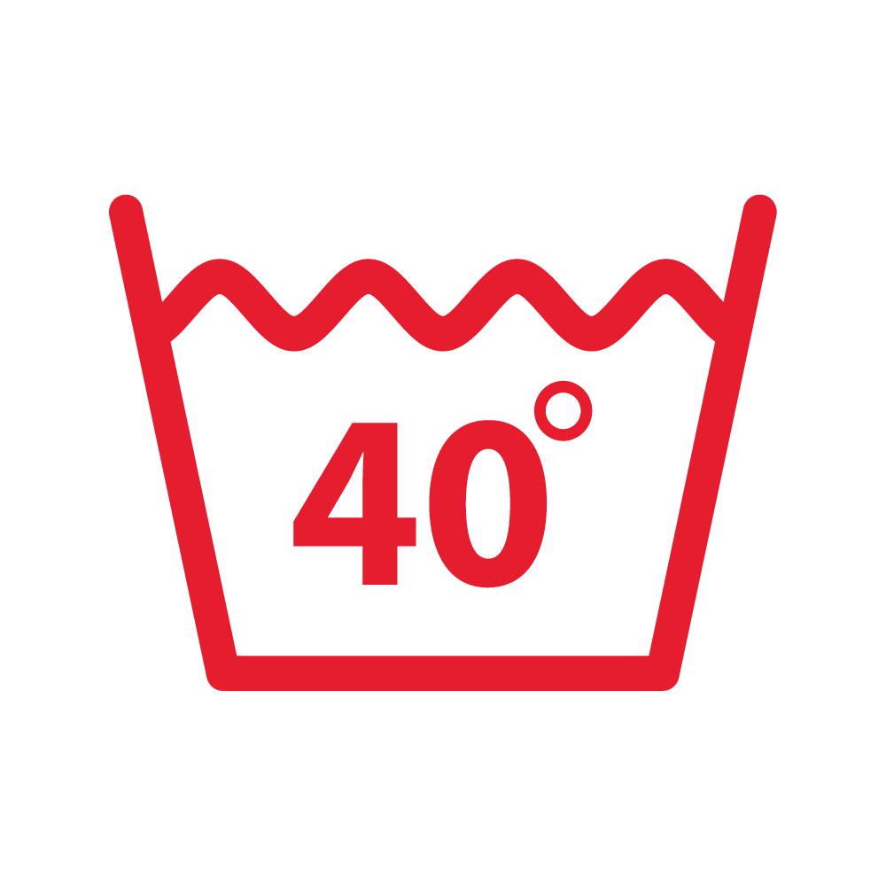 wash period underwear at 40 degrees