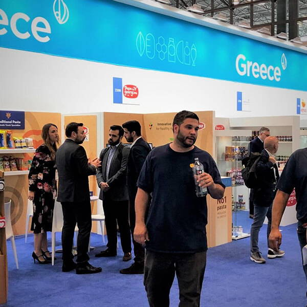 More foreign countries such as Greece were at the Fancy Food Show
