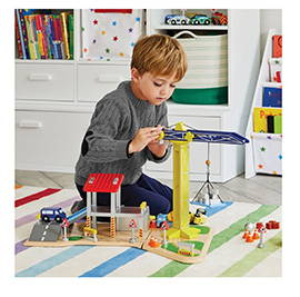 Kids' Construction Site Toy