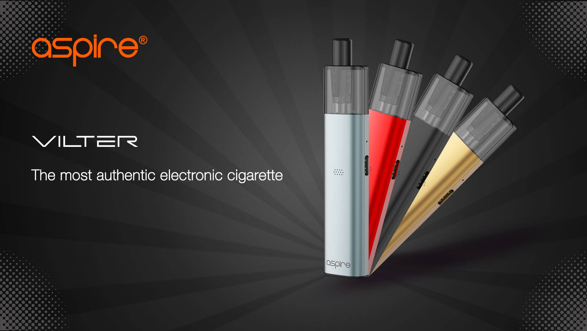 The most authentic electronic cigarette