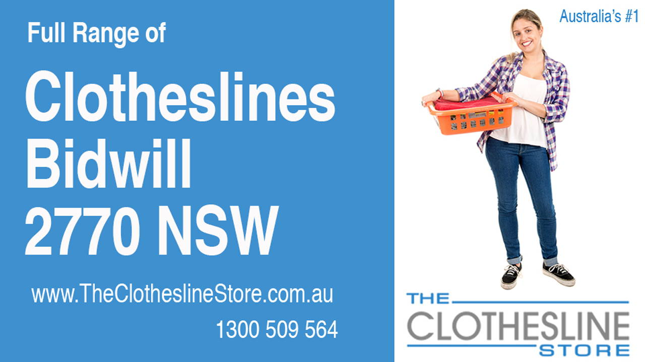 New Clotheslines in Bidwill 2770 NSW