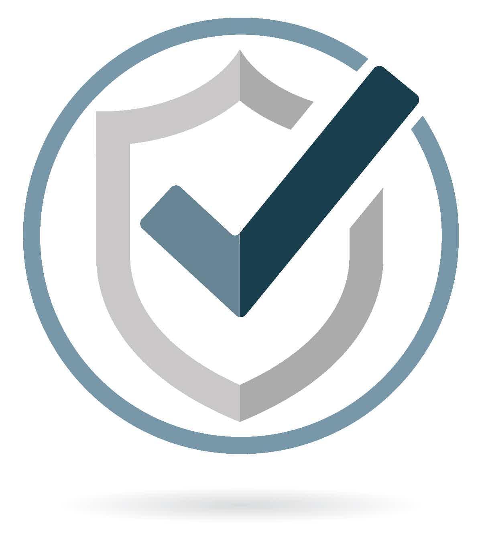 bioquad quality shield checkmark