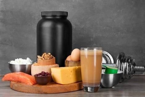 Eiweisshaltige Lebensmittel Muskelaufbau