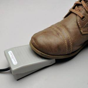 Responsive foot pedal for ultimate control