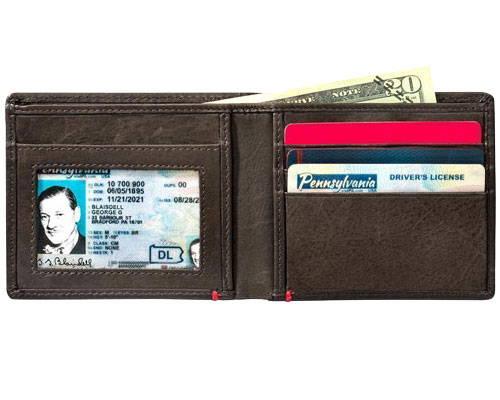 Wallet Style ID Window