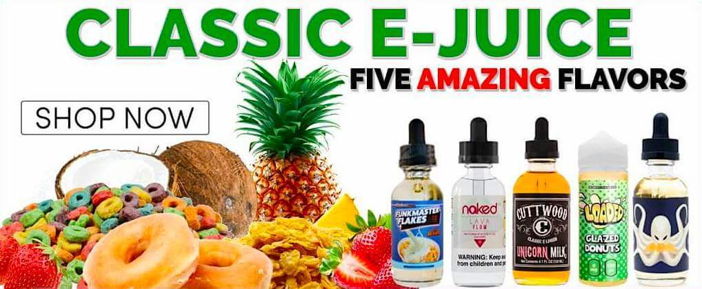 5 Best Classic e Juice, e Liquid and Vape Juice Flavors - Cheap eJuices