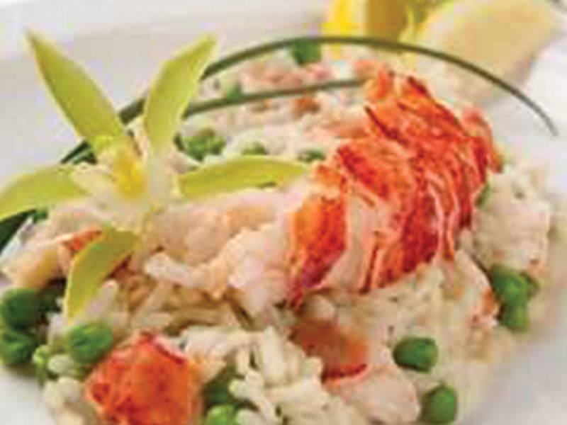 risotto de homard la boite du chef