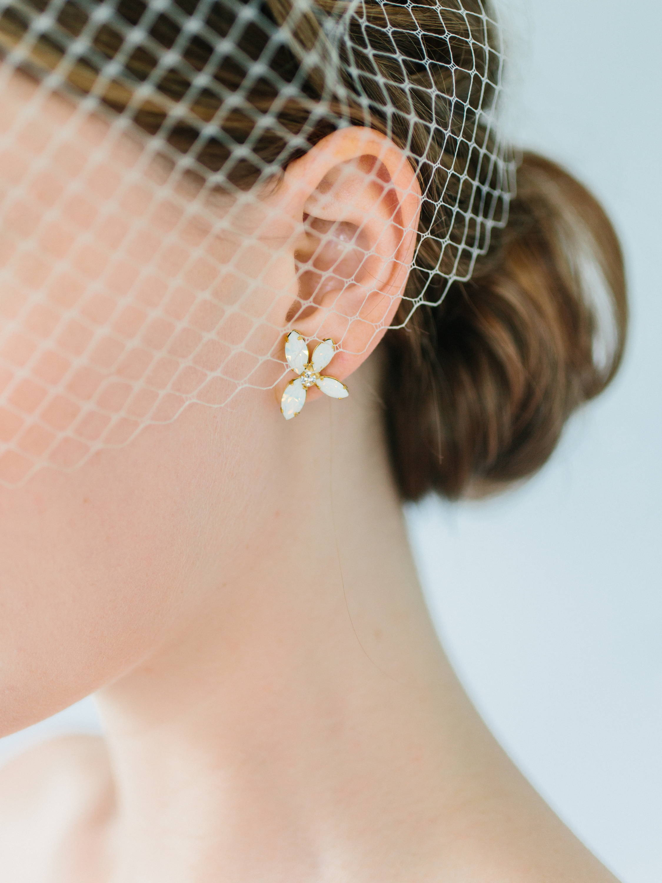 Ampersand Bridal Mykonos Earrings