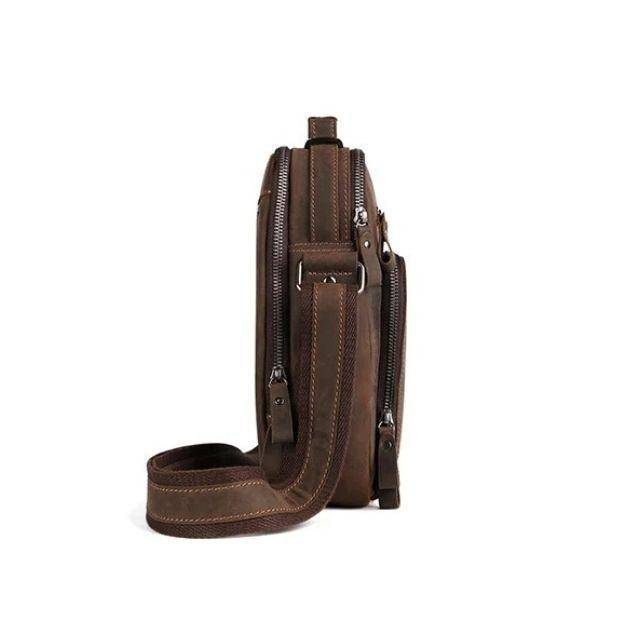 The Man Bag Leather Satchel Purse for Men The Real Leather Company