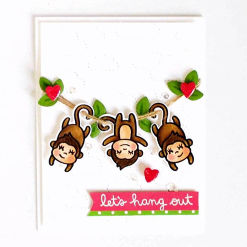 Love Ya' Bunches card by Carissa Wiley