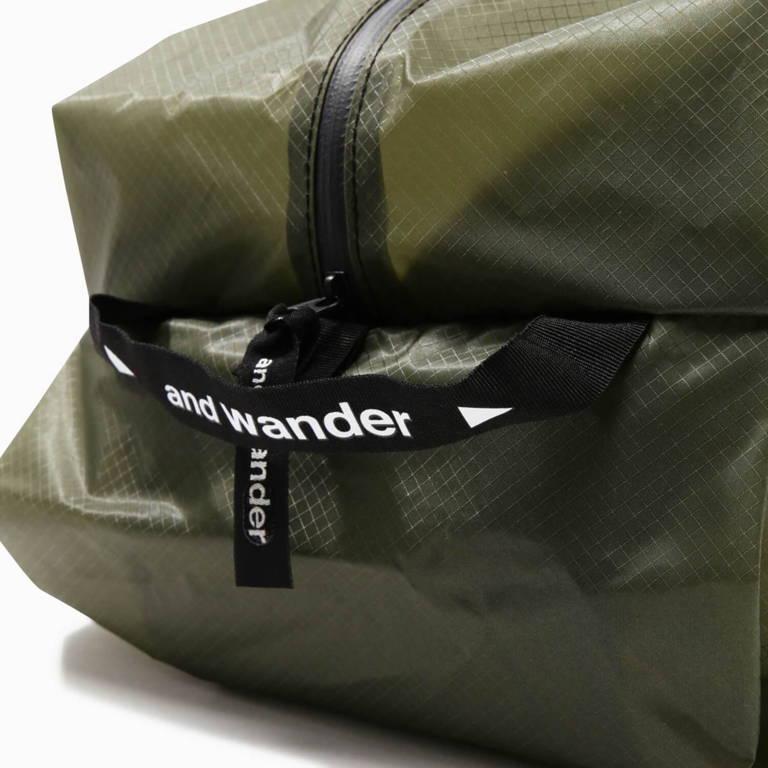 andwander(アンドワンダー)/シル スタッフサック ラージ/ホワイト/UNISEX