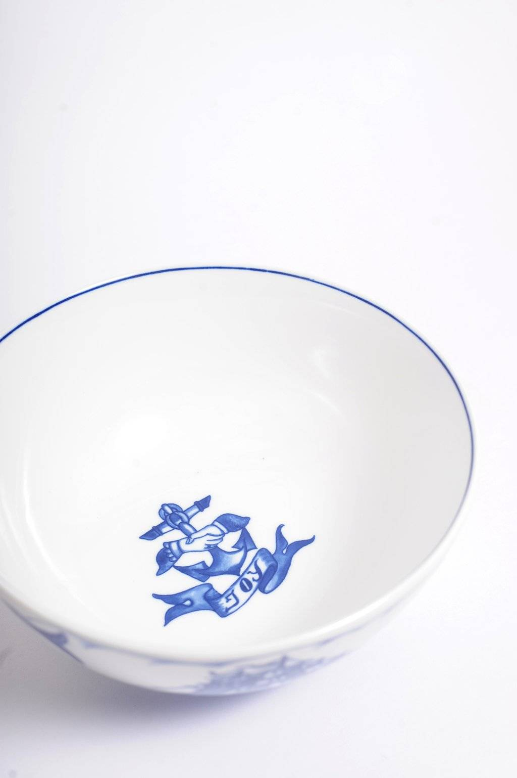 The By Mutti Blue Marlin Bowl
