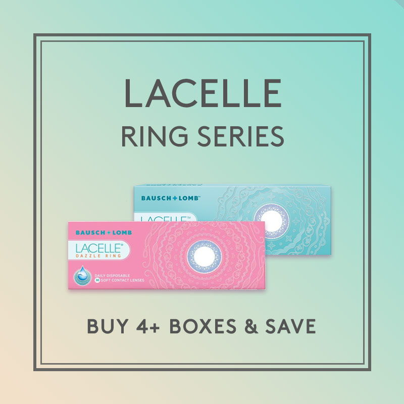 LACELLE Ring circle eye contacts