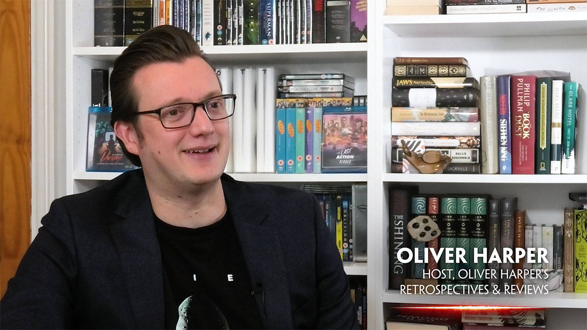 Oliver Harper In Search of Darkness Interview