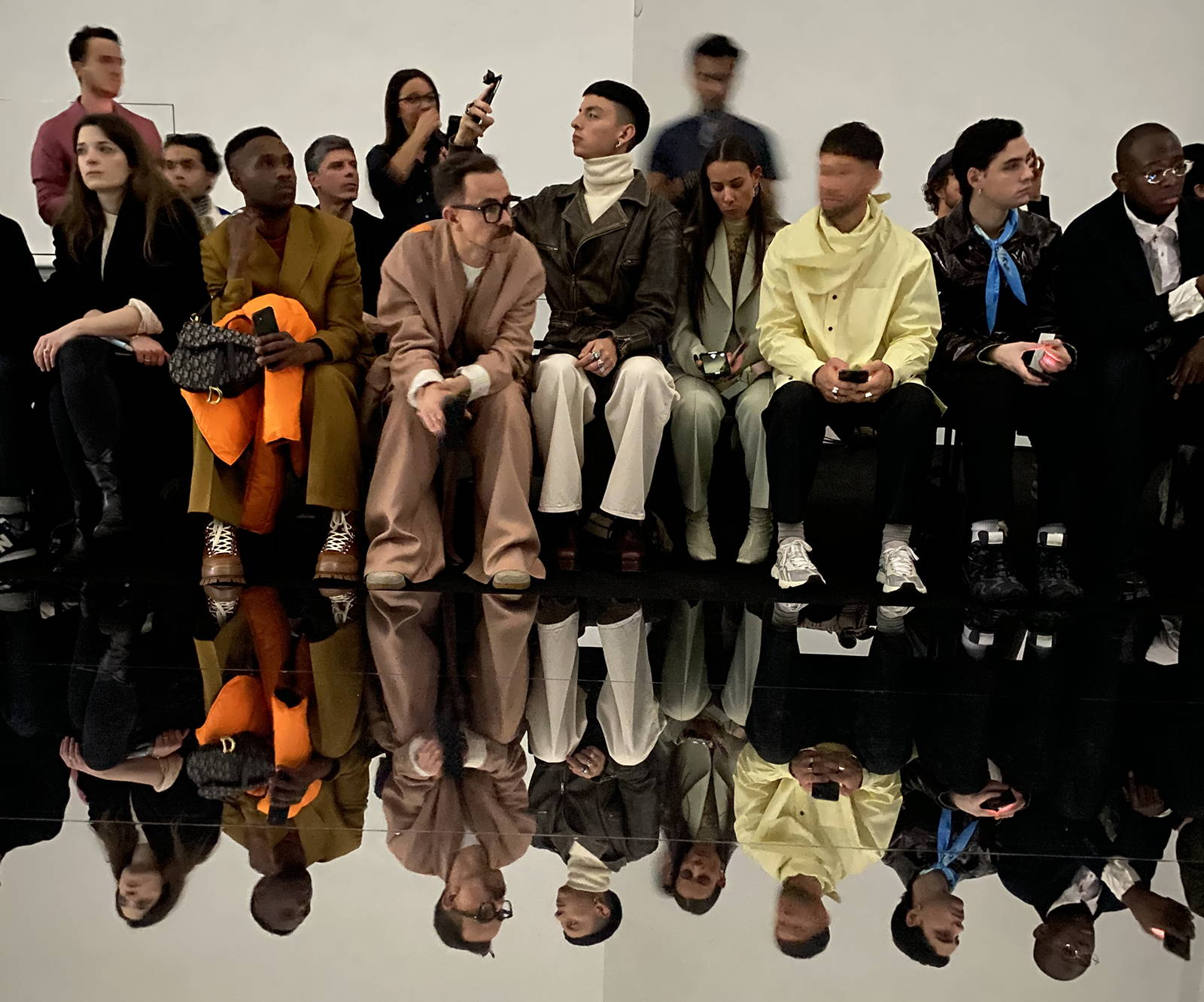 Dunhill AW20 Menswear Show Front Row