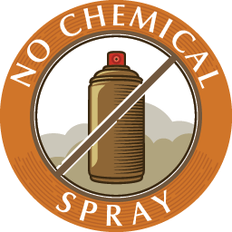no chemical spray