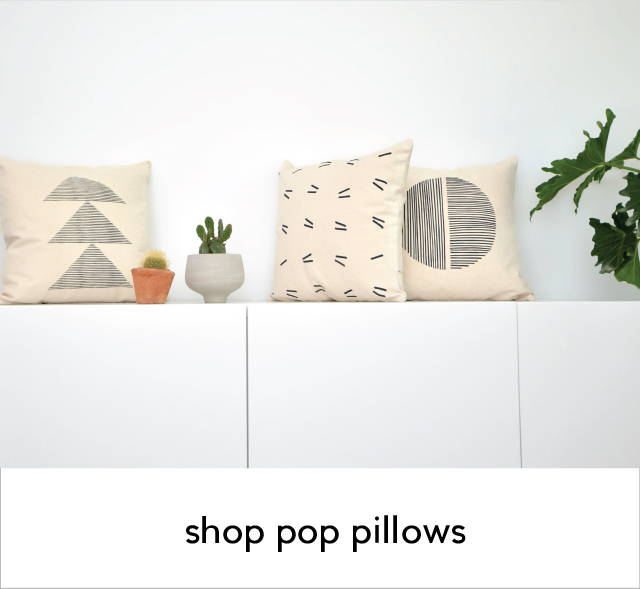 accent pillows organic