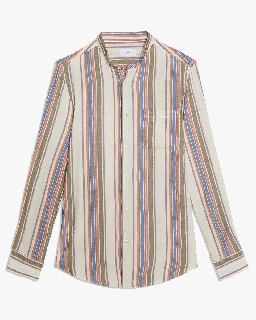 Eddy Mandarin Collar Shirt