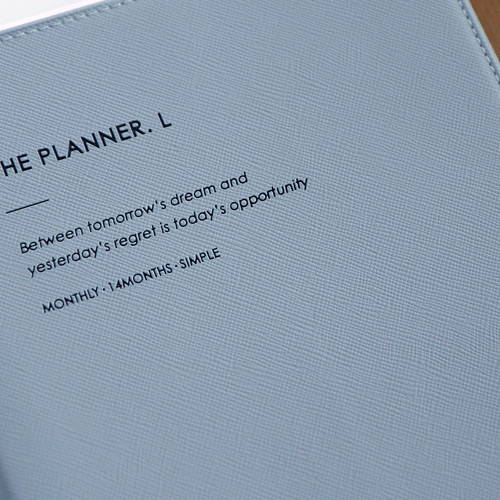 Durable cover - 2020 Simple large dated monthly planner scheduler