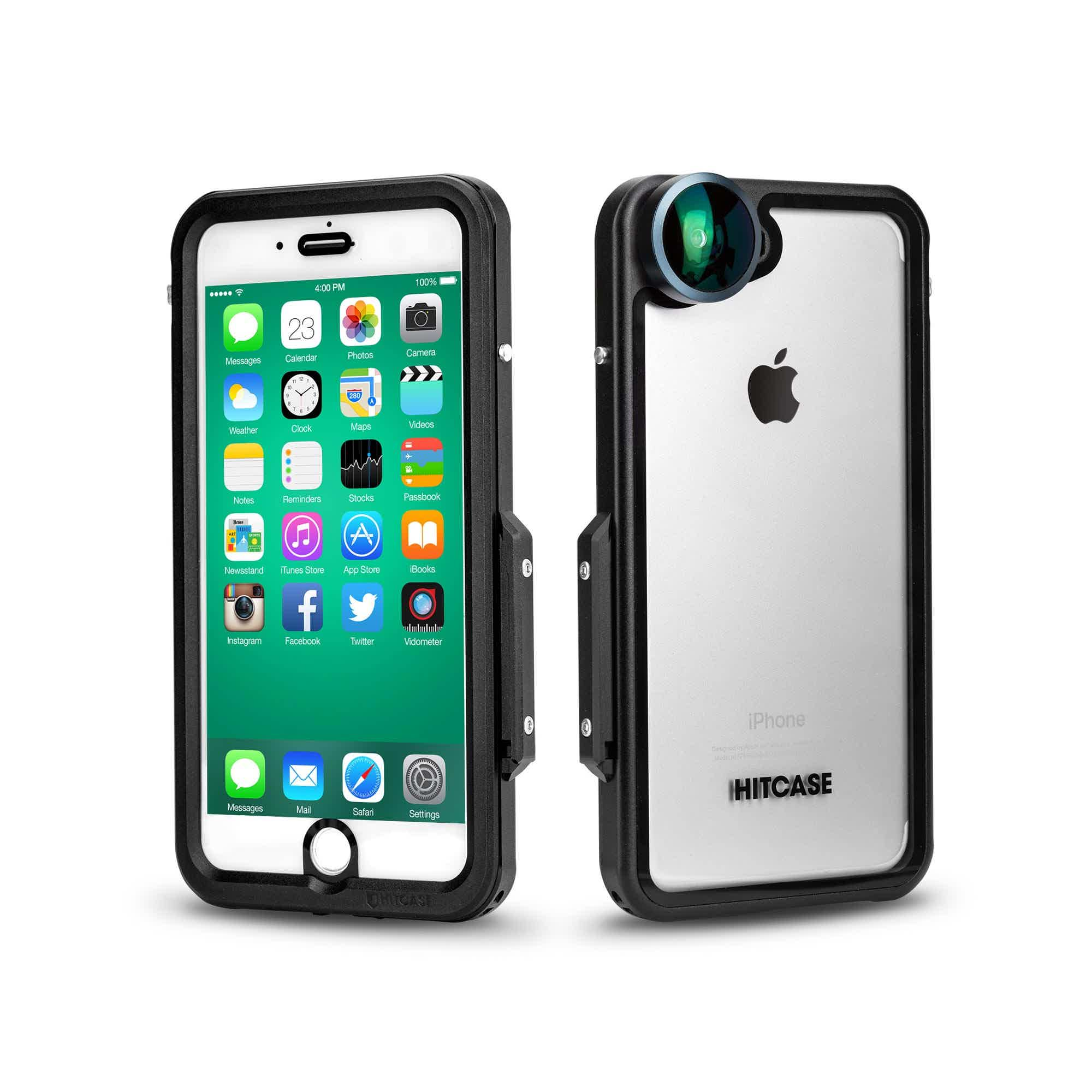 buy popular bfce1 d3121 Aluminum, Waterproof iPhone 8 Plus Case - PRO - Hitcase