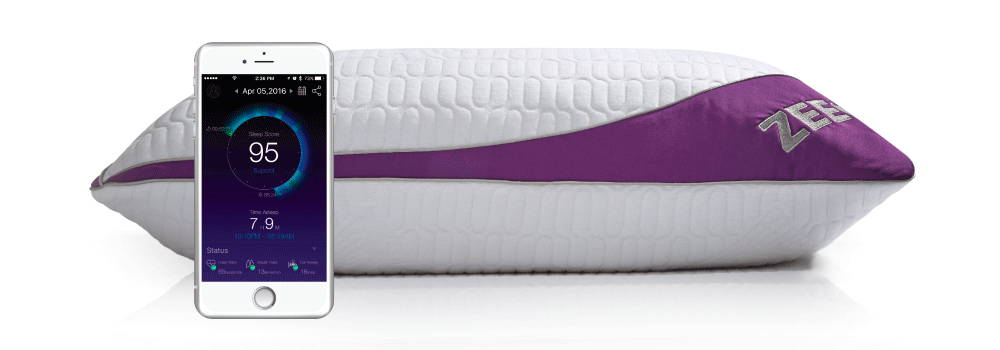 ZEEQ smart pillow with phone