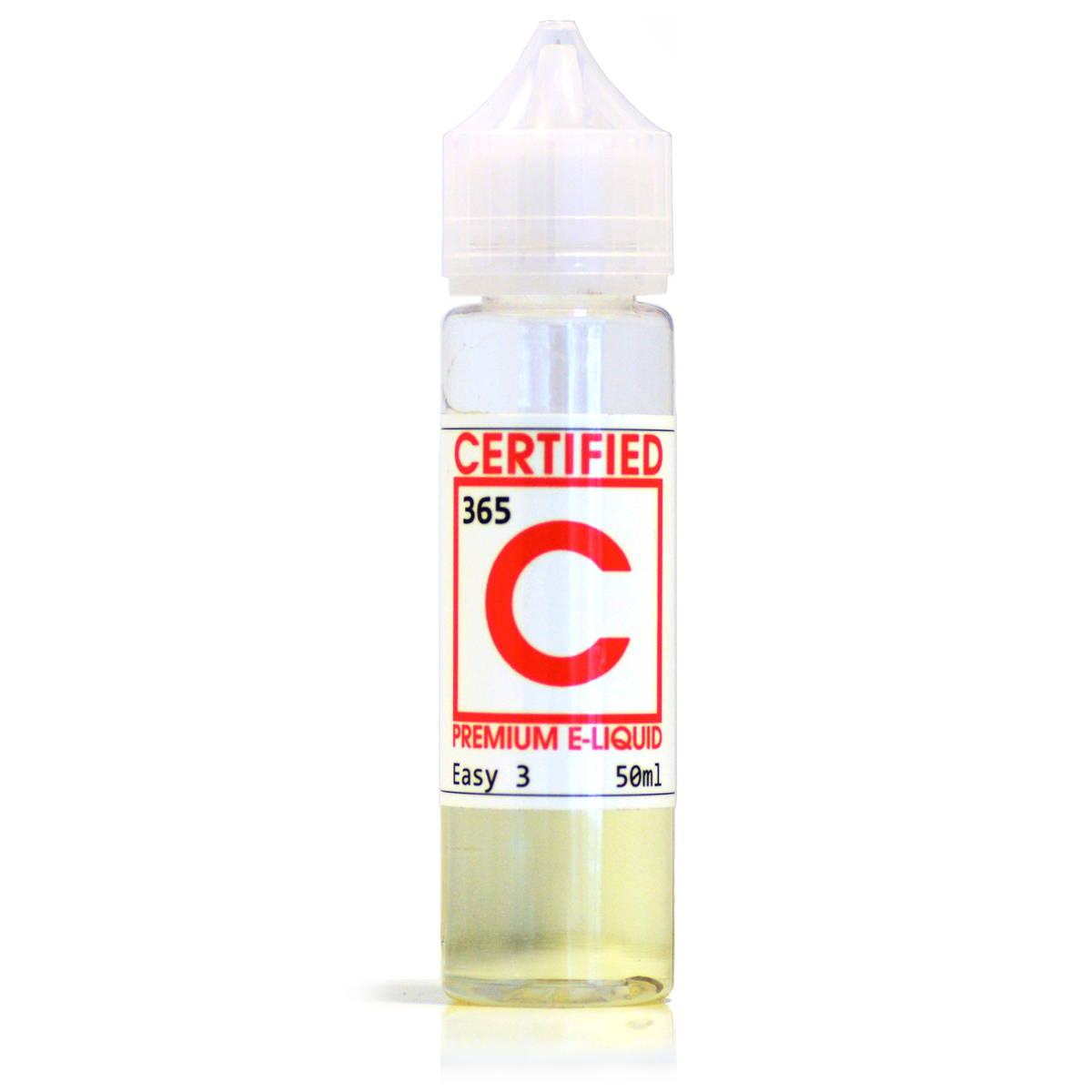 365 vanilla custard E-Liquid by Certified