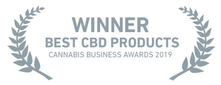Best CBD Product 2019 award