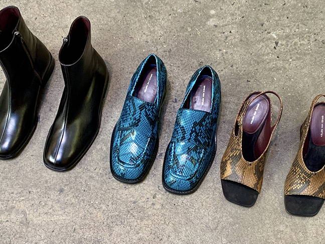 Footwear from Dries Van Noten.