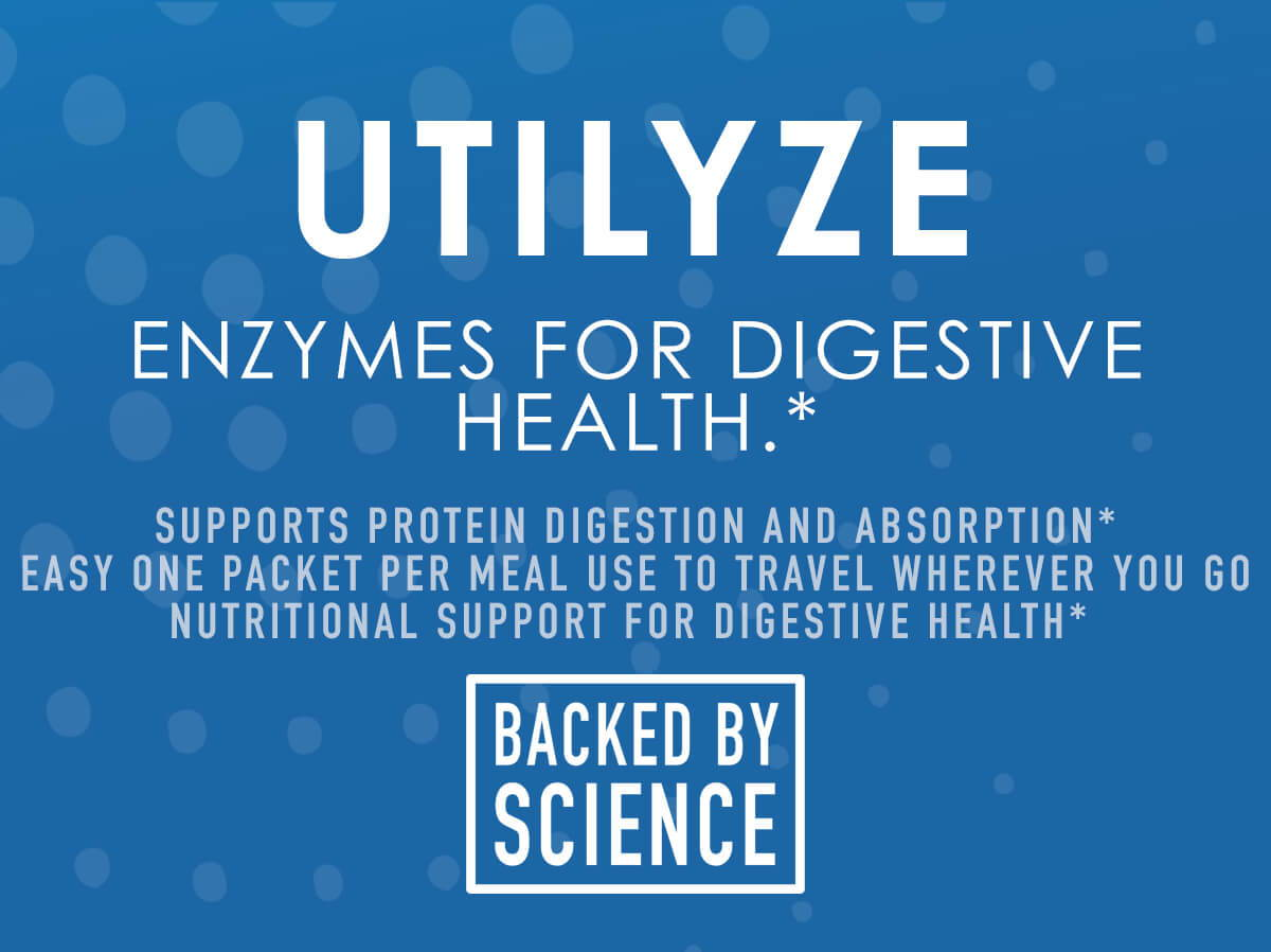 Utilyze - Enzymes for Digestive Health - NuEthix