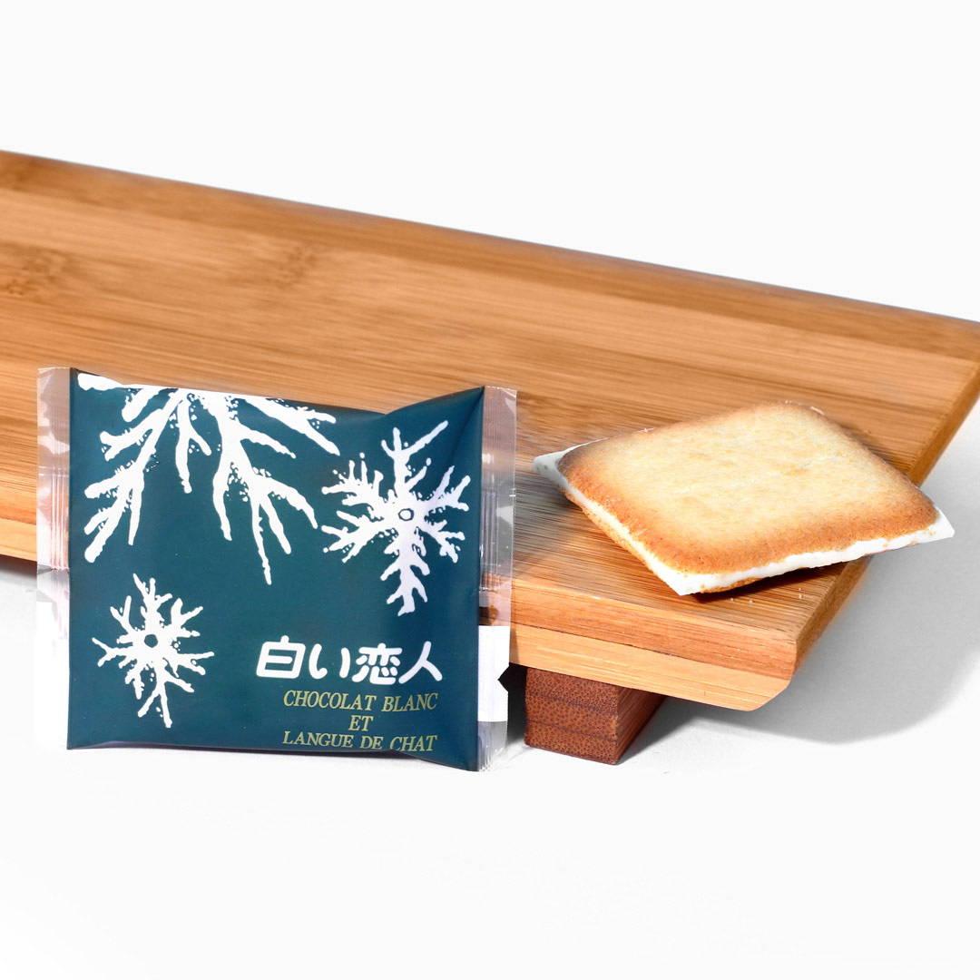 Hokkaido famous souvenir snack shiroi koibito cookie