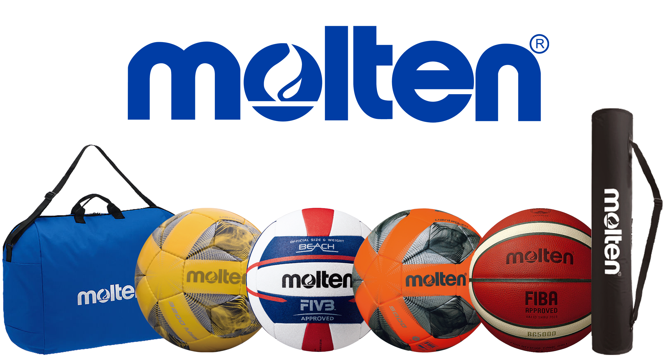 Selected Molten Range Sports Equipment Sold at Gym Direct