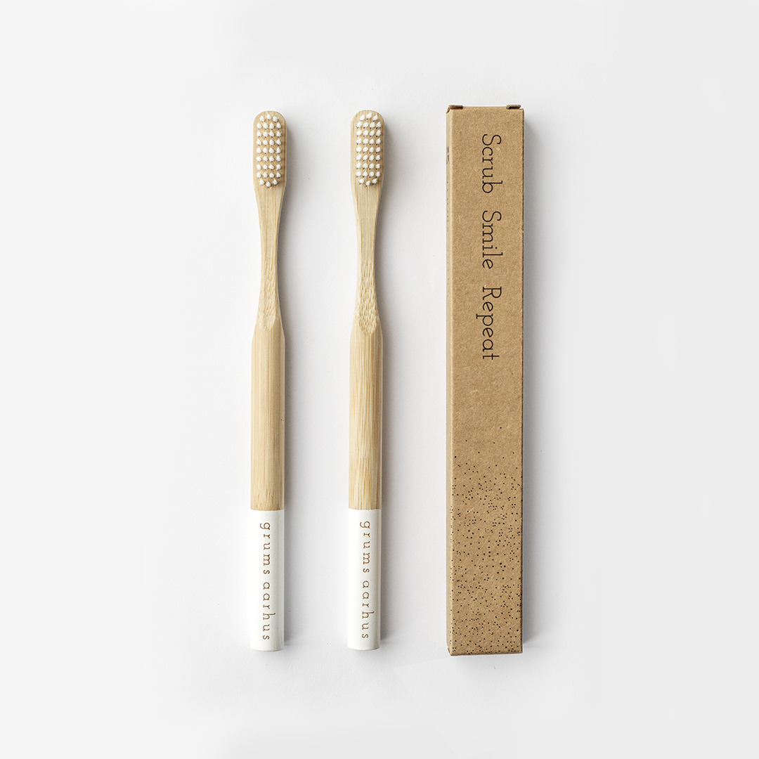 2 pack bamboo toothbrush