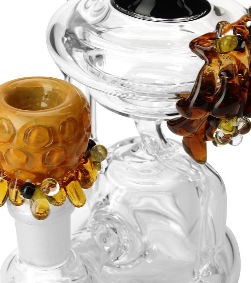 Empire Glassworks Mini Beehive Recycler