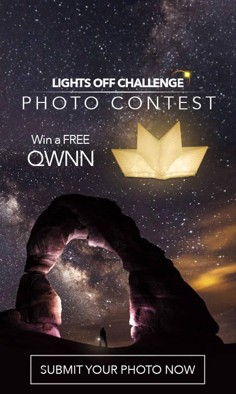 Win a QWNN - LIGHTS OFF Photo Contest