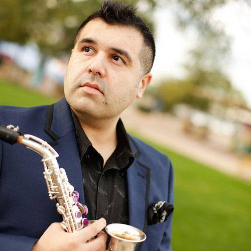 Classical saxophonist Michael Hernandez
