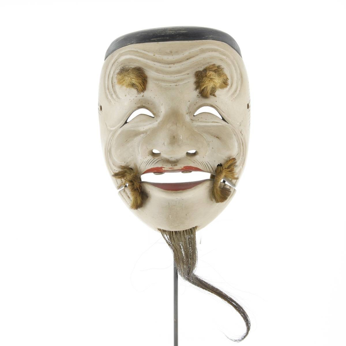 japanese noh mask, okina