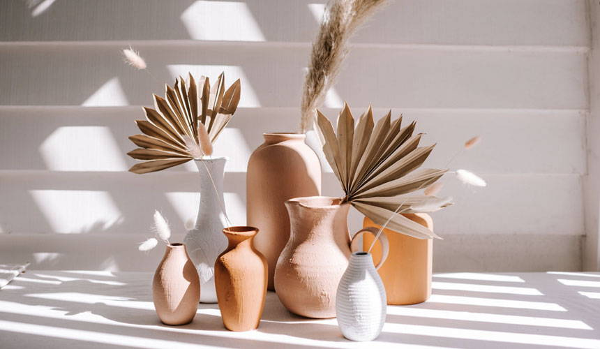 Spell Blog image of clay vases