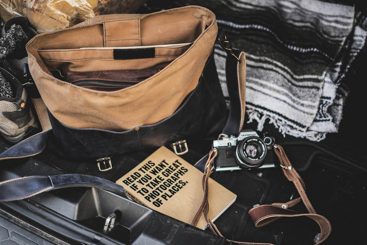 whats in your messenger bag